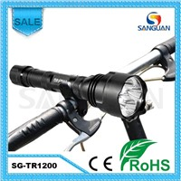 High Power 1200lm LED Waterproof Bicycle Flashlight