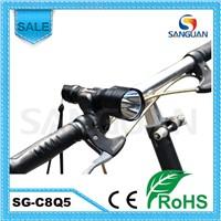 Hot Multifunctional LED Flashlight 240lm Power Beam Bicycle LED Light