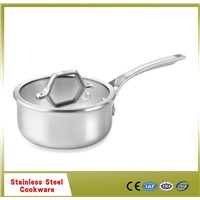 Hot Sell 24cm frypan stainless steel with stainless steel handle