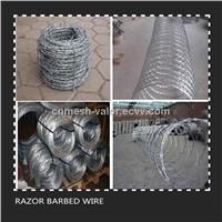 Razor Barbed Wire, Prison Razor Barbed Wire Mesh Fence