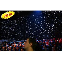 LED Star Curtain white led (Lite version) 6x4m, 8x3m, 7x5m