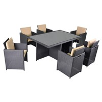 NEW Soho 7PCS Outdoor Patio Dining Set