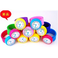 New fashion candy color promotional silicone watch,hot selling watch