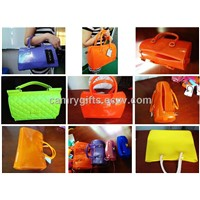 New fashion jelly bag,various kinds of silicone handbag for women
