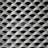 Powder Coating Aluminum Decorative  Expanded Metal Mesh