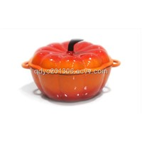 Pumpkin Colorful Enamel Cast Iron Pot-Enamel Cast Iron Pots