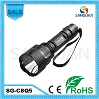 Sanguan Cree Q5 LED Flashlight High Quality LED Light