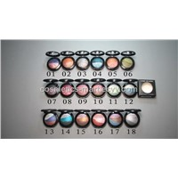 Single color makeup eye shadow with wholesale price