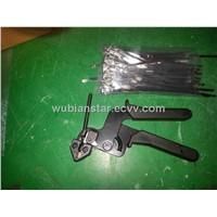 Stainless Steel Cable Tie Tool / Tie Gun