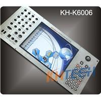 Stainless steel Industrial control panel keyboard