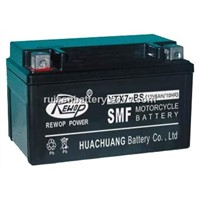 Valve Regulated lead acid battery, YTX7-BS, motorcycle battery