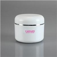 Wholesale 200g white plastic cream jar