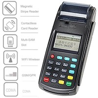 Wirelss EFT POS Terminal with Thermal Printer and WiFi,GPRS (N8110)
