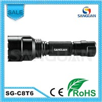 XML-T6 Lamp Flashlight Torch Made in China