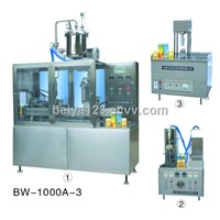 Yogurt Filling and Packing Machine (BW-1000-3)