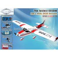 airplane rc toys model Cessna Brushless LCD 2.4GHz with 3G3X Technology