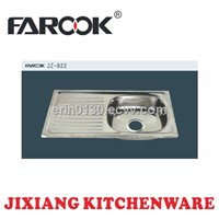 apron stainless steel kitchen sink