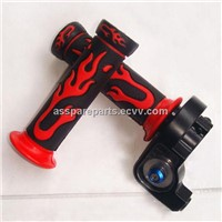flame model dirt bike ATV hand grip