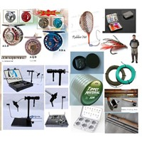 fly fishing tackle, bamboo fly rods, fly reels, fly box, fly line, fly wader, fly beads, fly set