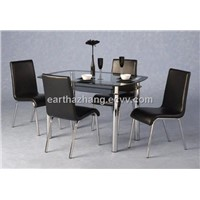hot sell rectangle dining table & dining chairs xydt-002 & xydc-238