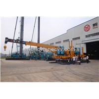 new developed hydraulic static pile driver