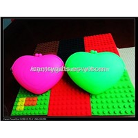 new fashion silicone heart shape hander bag,handbag