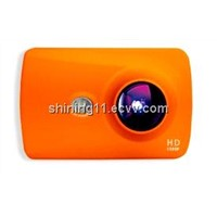 newest full hd 1080p waterproof sports camera for diving,surfing