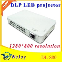 protable mini-projector DL-S80 led projector