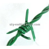 PVC Coated Barbed Wire / PVC Barbed Wire / Plastic Barbed Wire