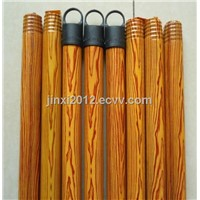 pvc coated wooden broom handle