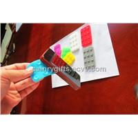 silicone car sucker mat silicone mobile phone sticker
