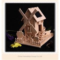 solar DIY wooden house