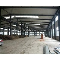steel structure frame for workshop