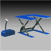 ultra thin scissor lift table