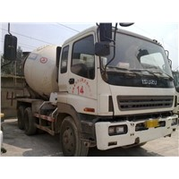 Used ISUZU Concrete Mixer Truck / Cement Mixer