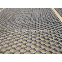 hex mesh for refractory lining for reactor vessel