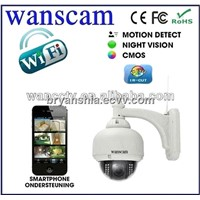 wifi zoom ip cam outdor 3 Times Optical Zoom