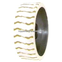 15 3/4x4 3/4,400*120*298 Non-Marking Solid Tyre with Joint Rim