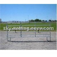 1.8x2.1M 6 Bars Hot Dipped Galvanized Corral Horse Fence