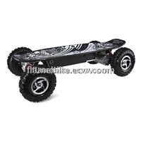 800W Electric Skateboard With New RC, Led Light(F/R)