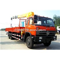 8T Cummins Diesel Dongfeng EQ5201JSQF Truck Crane