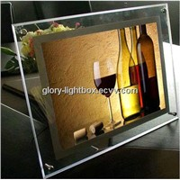 Acrylic Frame/ Illuminated Crytal LED Lighting Box in A1-A4 Size
