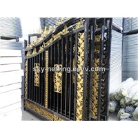 Beautiful Residential Wrought Iron Gate Designs/Models house gate