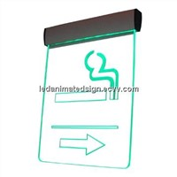 Crystal LED Colorful Lighting Sign Board Display
