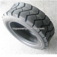Forklift Solid Tire with Rim Joint Softmax Liftmax
