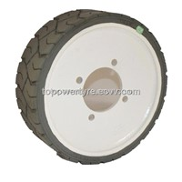 Genie105122,Genie105454 Non Marking Solid Wheel and Tyre