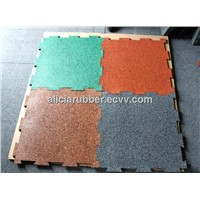 Gym rubber mats rubber flooring
