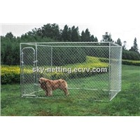 Heavy duty durable galvanized large dog kennel