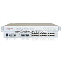 ME-1624RE-B 24FE+2F Rackmount Industrial Ethernet Switches