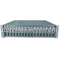 Managed Ethernet Media Converter Chassis